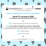 Soirée privée LENDOPOLIS x Investisseur Privé